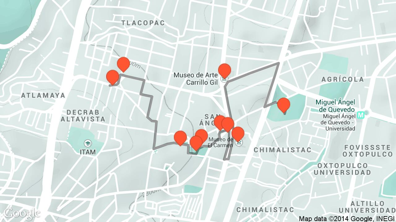 San ngel travel tour audio guide in Mexico City on Tales Tours