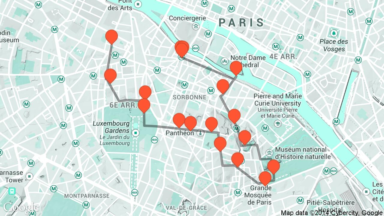get the a parisian stroll audio guide now
