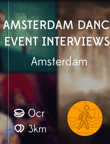 Amsterdam Dance Event interviews
