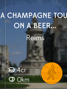A Champagne Tour On A Beer Budget: Reims; France