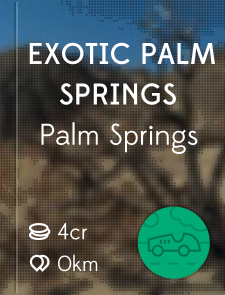 Exotic Palm Springs
