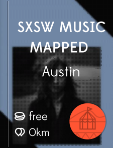 SXSW Music Mapped