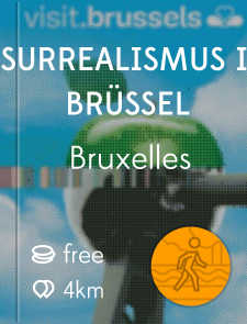 Surrealismus in Brüssel