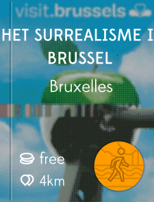 Het surrealisme in Brussel