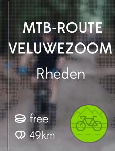 MTB-route Veluwezoom