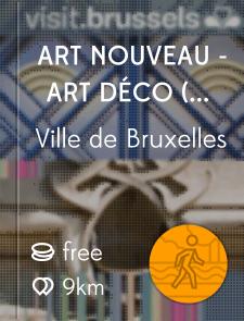Art Nouveau - Art Déco (Centre-ville)