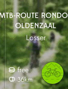MTB-route rondom Oldenzaal