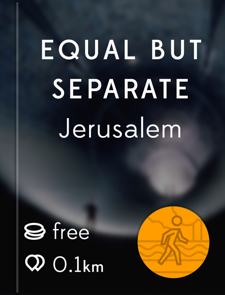 Equal but Separate