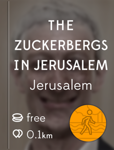 The Zuckerbergs in Jerusalem