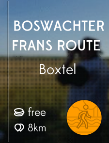 Boswachter Frans route