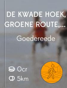 De Kwade Hoek, groene route, Duinen van Goeree