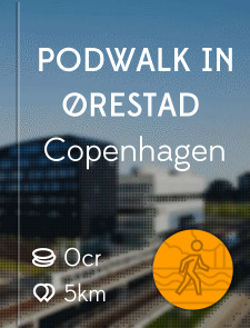 Podwalk in Ørestad