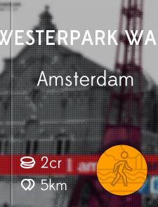Westerpark Walk