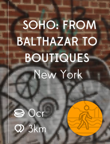 SoHo: From Balthazar to Boutiques