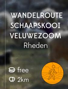 Wandelroute Schaapskooi Veluwezoom