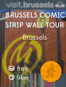 Brussels Comic Strip Wall Tour