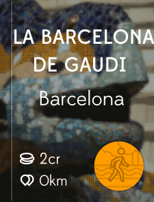 La Barcelona de Gaudi