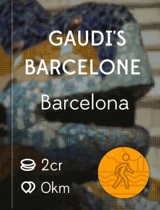 Gaudi's Barcelone