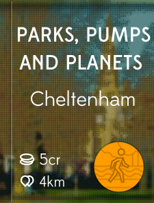 Parks, Pumps and Planets