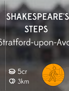 Shakespeare's Steps