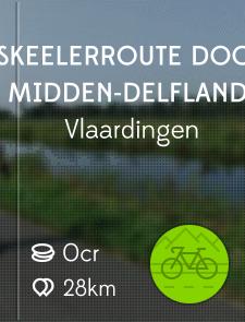 Skeelerroute door Midden-Delfland