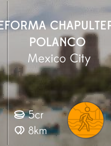 Reforma Chapultepec Polanco
