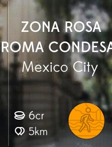 Zona Rosa Roma Condesa