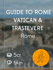 Guide to Rome Vatican & Trastevere