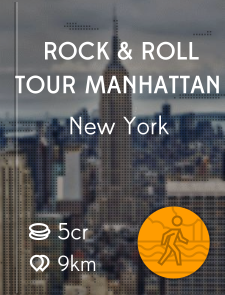 Rock & Roll Tour Manhattan